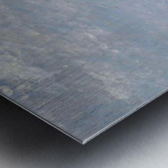Twin Rocks at Hendaye Metal print
