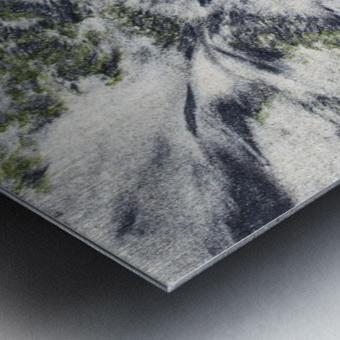 The Ocean Sand Metal print