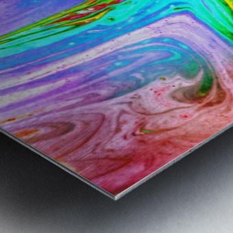 bubbles Reimagined 65 Metal print