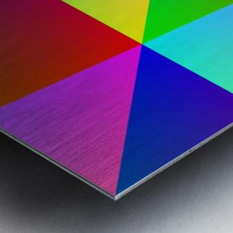 Spectrum Metal print