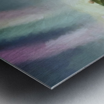 Under the rainbow Metal print