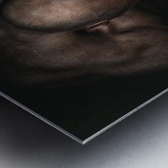 Boxed Metal print