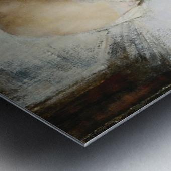 The Break Metal print