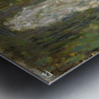 The Waterjet Metal print