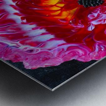 Flower. Stephen R Metal print