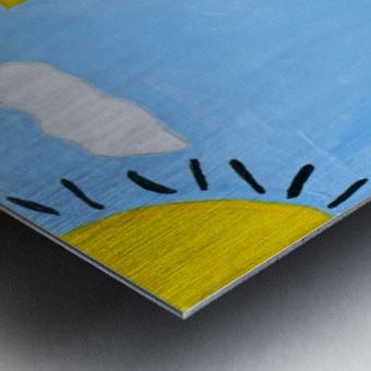 Under The Sun. DaVere H. Metal print