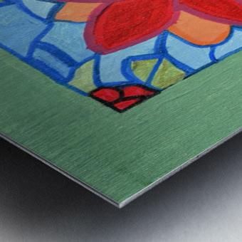 Poinsettia. Thomas L Metal print