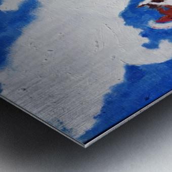 Last Ride. Kelly R. Metal print