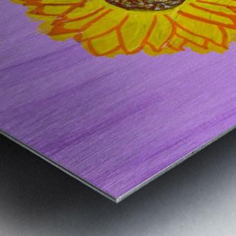 Sunflower. Annie F. Metal print