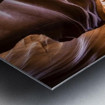 Sand Fall Metal print