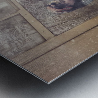 Take care Metal print
