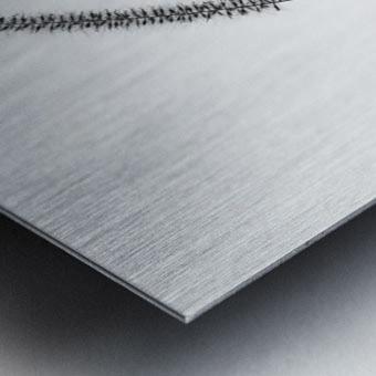 Minimalist Metal print