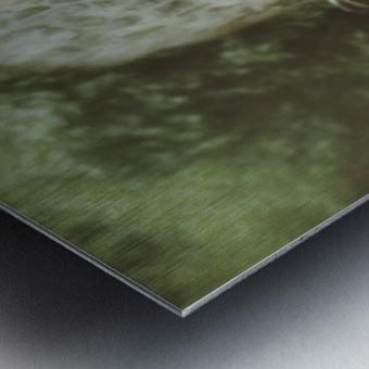 The wall game Metal print