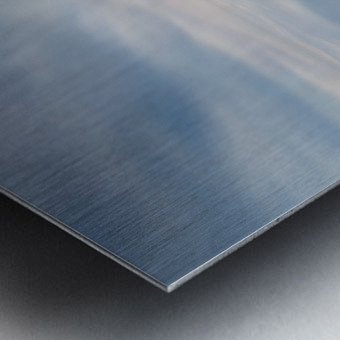 The calm Metal print