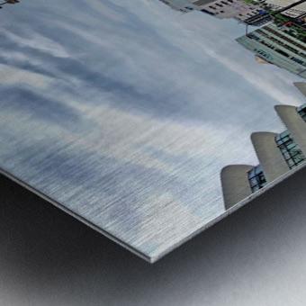 Yokohama Metal print