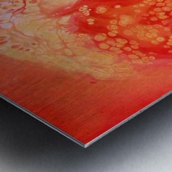 Cosmic Rose Metal print