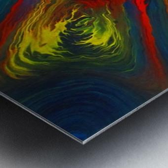 The Eye of a Storm Metal print