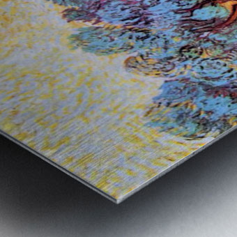 Olive Grove by Van Gogh Metal print
