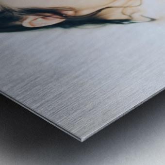 Lush Metal print