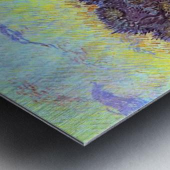 Olive Trees -2- by Van Gogh Metal print