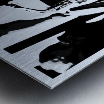 Busker II Metal print