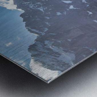 Hut Overlook Metal print