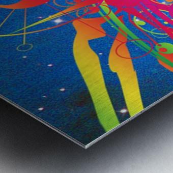 Star Ship Metal print