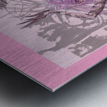 OeilDeCristal Metal print