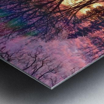 Midwest Sunrise Metal print