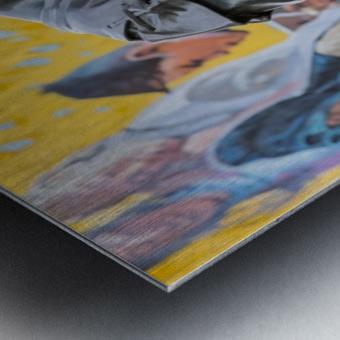 StAlbertStatue_DSC4614 Metal print