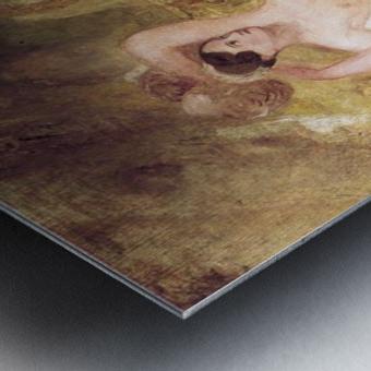 Reclining Venus by Joseph Mallord Turner Metal print