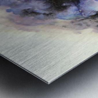 Electric Sky Metal print