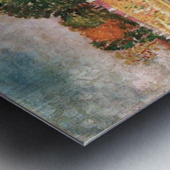 River bank by Van Gogh Metal print