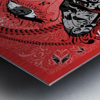Type Is Allusive - Typography Art Print Metal print