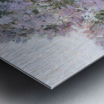 In the garden by Hassam Metal print