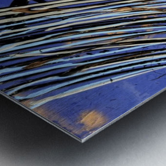 2350.sapphire Metal print