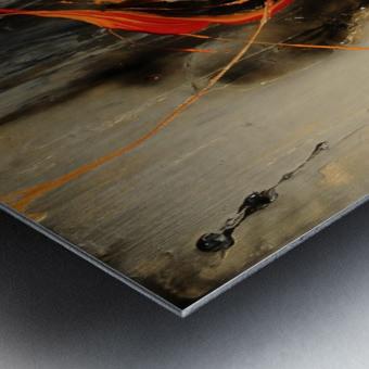 2841 - safe n sound Metal print