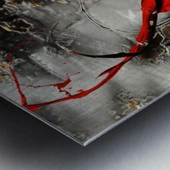 576 -  flirt Metal print