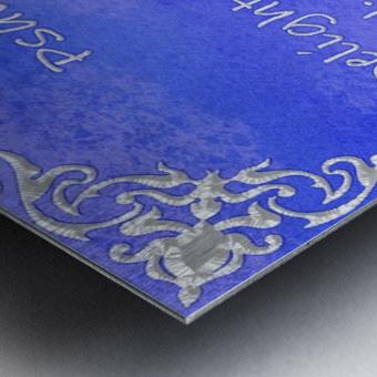 Psalm 37 4 1BL Metal print