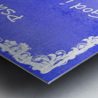 Psalm 46 1 8BL Metal print