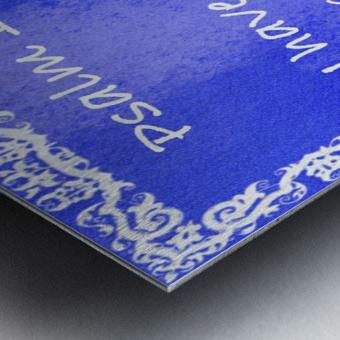 Psalm 16 8 10BL Metal print