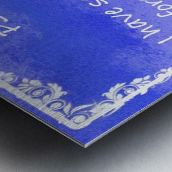 Psalm 16 8 9BL Metal print