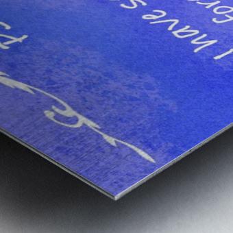 Psalm 16 8 3BL Metal print
