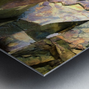 Colorful Slate Metal print