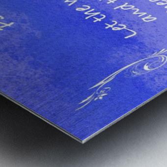 Psalm 19 14 4BL Metal print