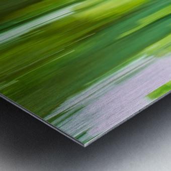 Moving Trees 12 Green Landscape 52-70 360px Impression metal