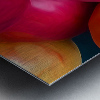 A Slice Of Apples Metal print