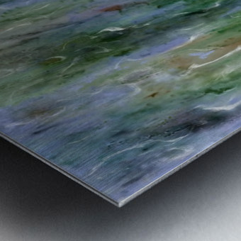 Withdrawn Metal print