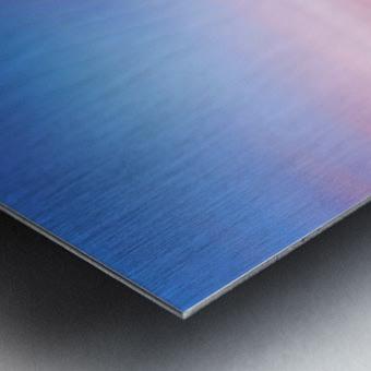 Abstract Sunset VII Metal print