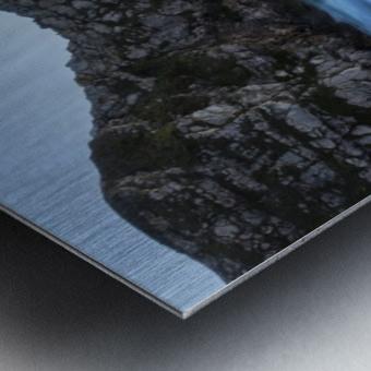 DURDLE DOOR DUSK 2. Metal print